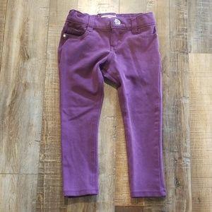 Purple skinny jeans 3T
